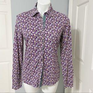 Ladies Boden Button Up Shirt -Size 8